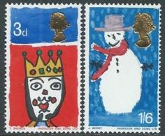 1966 GREAT BRITAIN CHRISTMAS SG 713/4 MNH ** - RC40 - 1952-.... (Elizabeth II)