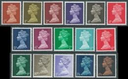 1967-70 GREAT BRITAIN QUEEN ELIZABETH II SG 723/44 SET OF 16 MNH ** - RC29-8 - 1952-.... (Elizabeth II)