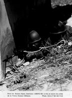 "MILITAIRE - 2 Photos .""Exercice-UBAYE 68-71ème Division Militaire"" § ""Manoeuvre-GENTIANE-27ème Brigade Alpine""- - Guerre, Militaire"