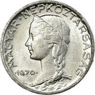 Monnaie, Hongrie, 5 Filler, 1970, Budapest, SUP, Aluminium, KM:549 - Hungría
