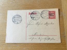 KS3 Bayern Ganzsache Stationery Entier Postal P 104 Ortskarte Von Nürnberg - Bavaria