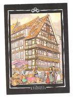 CP L'Alsace éternelle - Dessin De G. Ratkoff - Alsace