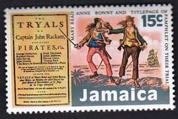 Jamaica 1971 / Pirates And Buccaneers, Tryals Of Captain John Rackam, Sailing Ship / MNH / Mi 335 - Schiffe