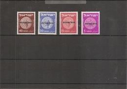 Israel ( Services 1/4 XXX -MNH) - Autres
