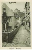 DEUTSCHLAND - HELGOLAND - Brunnenstrasse - Helgoland
