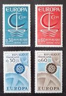 FRANCE   Europa 1966 Et 1967    N° Y&T  1490, 1491, 1521 Et 1522    ** - Unused Stamps