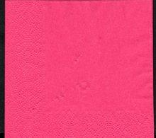 8  Servilletas 24 X 24cm Lisas: Bordeau - Serviettes Papier à Motif