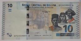 Bolivia - 10 Bolivianos - New Familly - N.D. - UNC - Bolivia
