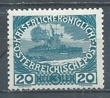 Autriche YT N°141 Marine Neuf/charnière * - 1850-1918 Imperium