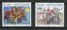 Bosnie Herzégovine Adm Croate - Bosnia - Bosnien 2002 Y&T N°67 à 68 - Michel N°88 à 89 *** - EUROPA - Bosnien-Herzegowina