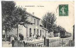 APREMONT - La Gare - TRAIN - France