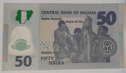 Nigeria - 50 Naira - 2018 - UNC - Polymer - Nigeria
