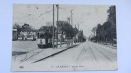 LE RAINCY , TRAM . - France