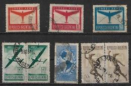 1940 Argentina Transporte Aviones-union Panamericana 8v.parejas - Argentina
