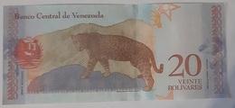 Venezuela - 20 Bolivares Soberanos - 15/1/2018 - Serie B - UNC - Animal Note - Venezuela