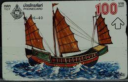 THAILAND 1999 PHONECARD SHIP USED VF!! - Telefoonkaarten