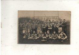 Clermont (60) : GP De L'équipe De Football Rugby Du Stade Clermontois En 1913 (animé) PF CP PHOTO RARE. - Clermont