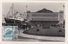 Carte Maximum  Ship Bateau Pologne - Cartoline Maximum