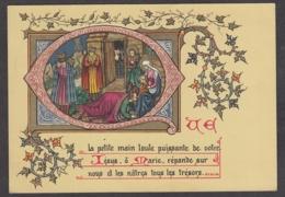 98332/ NOEL, Crèche, Lettrine Q - Other