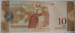 Venezuela - 10 Bolivares Fuertes - 19/8/2014 - Serie X - UNC - With Animal - Venezuela