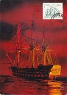 Carte Maximum  Ship Bateau Pologne Voilier - Cartes Maximum