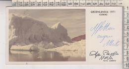 GROENLANDIA  GROENLAND  ICEBERG FOTOCARTOLINA - Groenlandia