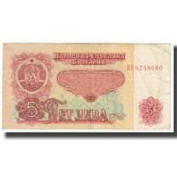 Billet, Bulgarie, 5 Leva, 1974, KM:90a, TB - Bulgarien