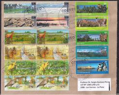Argentina - 2020 - Lettre - Faune - Parcs Nationauxs - Timbre Diverse - Argentina