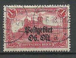 POLEN Poland 1918 O GRODNO German Occupation Ober-Ost Michel 12 O - Occupation 1914-18