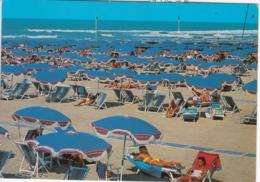 VERSILIA - SPIAGGIA ANIMATA - VIAGGIATA 1990 - Altre Città