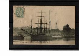 35 - SAINT MALO - Le Port, Bateaux De Terre Neuve  - 3811 - Saint Malo