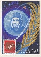 Carte Maximum  Space Espace Conquête Spatiale URSS Russia 1964 - 1923-1991 UdSSR