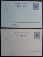 DR - 2 Ganzsachen P40Ba Und P40Bb, Beide Wohnungstype I (kleines Format), Ungelaufen (1442) - Stamped Stationery