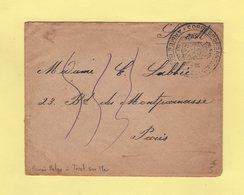 Armee Belge - Correspondance Des Armees - Triel Sur Mer - Seine Inferieure - Guerra De 1914-18