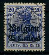 BES 1WK LP BELGIEN Nr 4I Gestempelt X77B29A - Occupation 1914-18