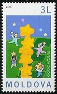 Europa CEPT 2000 Moldavie - Moldawien - Moldova Y&T N°313 - Michel N°363 *** - 3l EUROPA - 2000