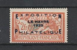 France N° 257A * Le Havre 1929 - Neufs
