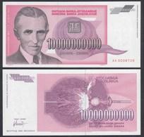 Jugoslawien - Yugoslavia 10-Milliarden Dinara 1993 Pick 127 UNC (1)  (26364 - Jugoslavia
