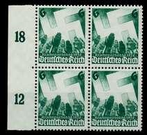 3. REICH 1936 Nr 632 Postfrisch VIERERBLOCK SRA X77D456 - Germany