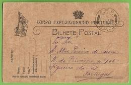 História Postal - Filatelia - Corpo Expedicionário Português - Carimbo Militar - República Philately Military Portugal - Weltkrieg 1914-18