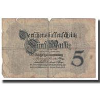 Billet, Allemagne, 5 Mark, 1914, 1914-08-05, KM:47c, TB - [ 2] 1871-1918 : Impero Tedesco