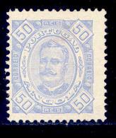 ! ! Angola - 1893 D. Carlos 50 R (Perf. 11 3/4) - Af. 30 - MH - Angola