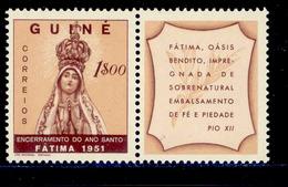 ! ! Portuguese Guinea - 1951 Holy Year (Complete Set) - Af. 265 - MNH - Portuguese Guinea