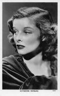 Actress Katherine Hepburn ,Radio Portrait Real Photo Postcard - Acteurs