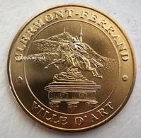 Monnaie De Paris 63.Clermont Ferrand - Ville D'art 2015 - Monnaie De Paris
