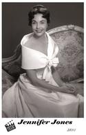 JENNIFER JONES (PB31) - Film Star Pin Up PHOTO POSTCARD - Pandora Box Edition Year 2007 - Femmes Célèbres