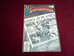 THE ADVENTURES OF  SUPERMAN    N° 451 FEB 89 - DC