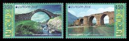 Armenia (Nagorno-Karabakh) 2018 Mih. 161/62 Europa-Cept. Bridges MNH ** - Armenia