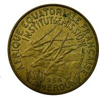 Monnaie, Cameroun, 10 Francs, 1958, TTB, Aluminum-Bronze, KM:11 - Cameroon