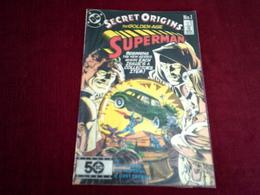 SECRET ORIGINS  THE GOLDEN AGE SUPERMAN    N° 1 APR  86 - DC
